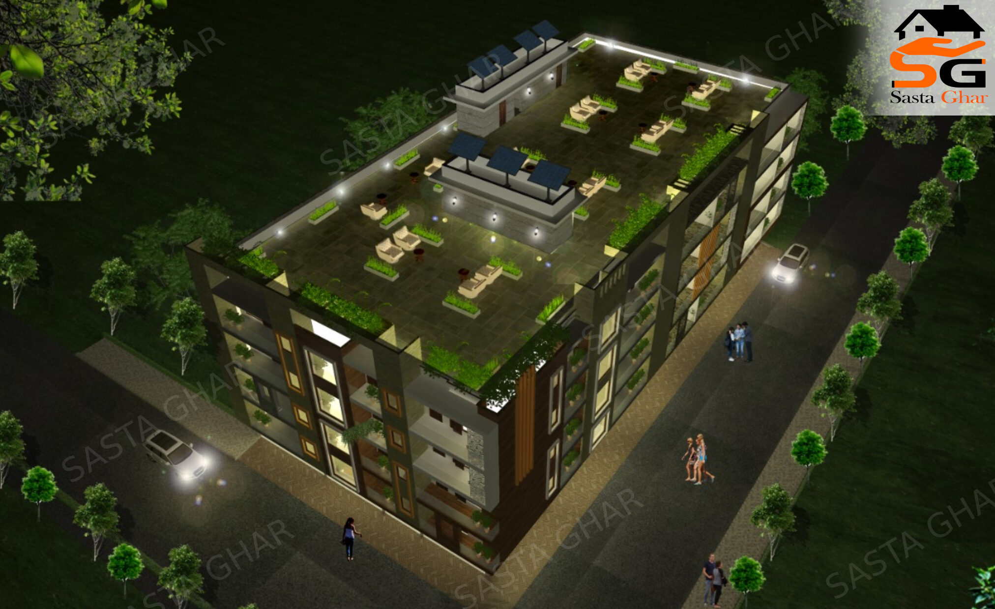 3 bhk Registry Flats in Chattarpur Image