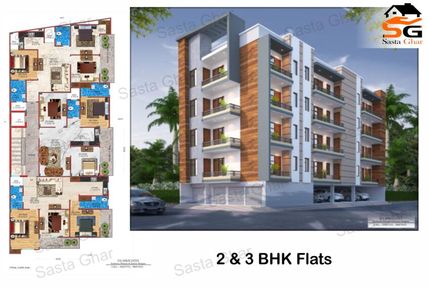 2 BHK Flats in chattarpur image