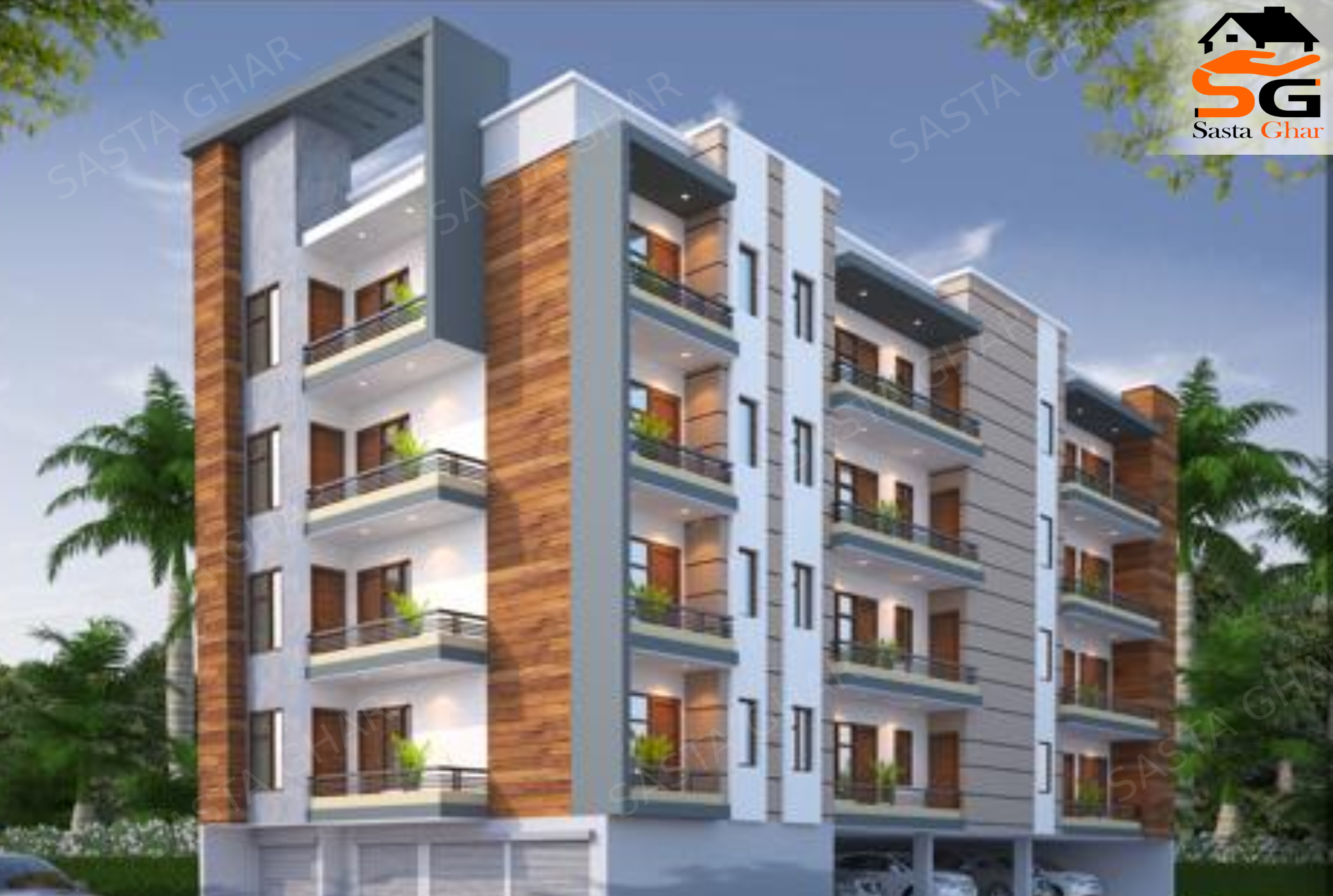 3 BHk Flats In Mandi Chattarpur Image