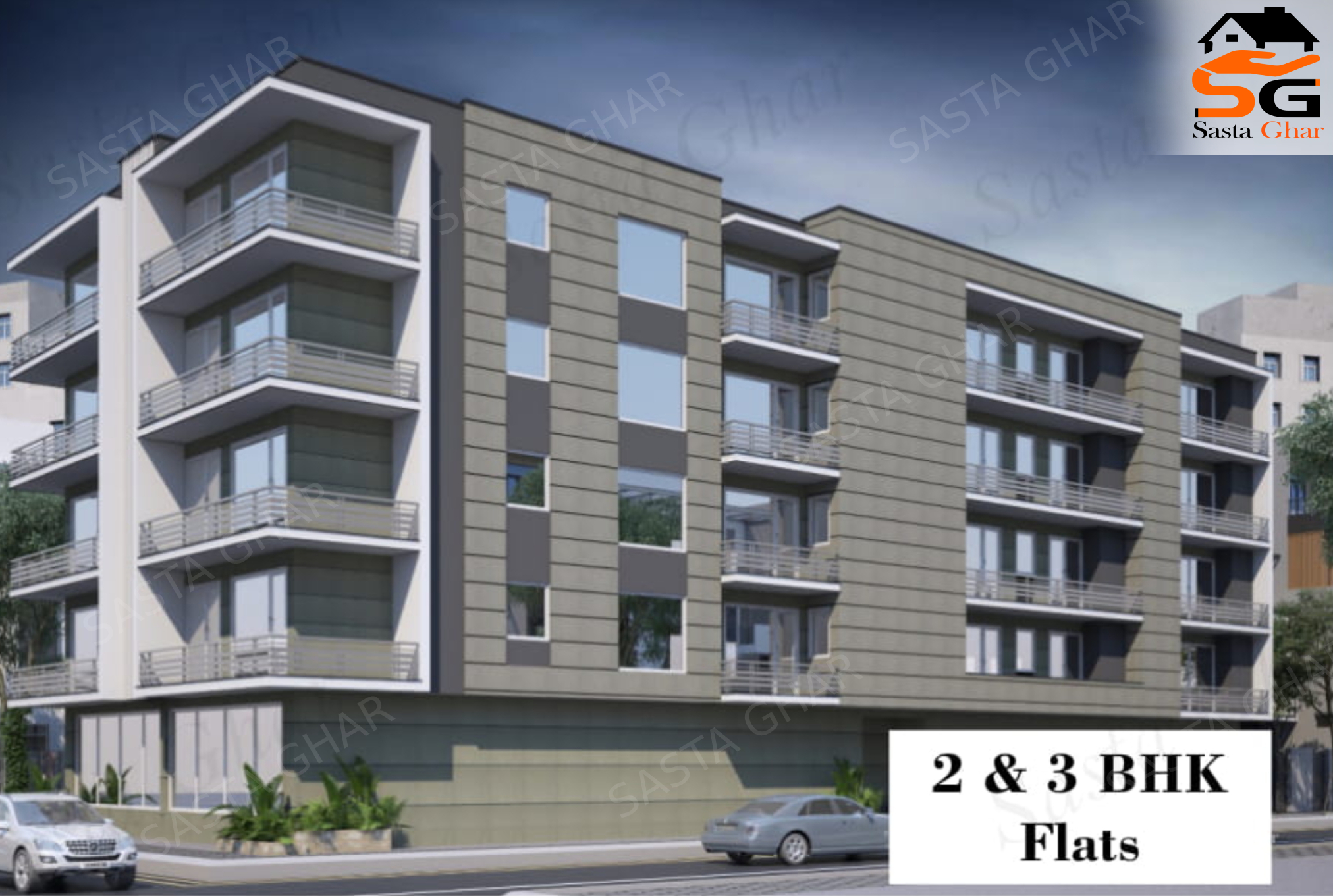 2 & 3 BHK Flats In Chattarpur Image
