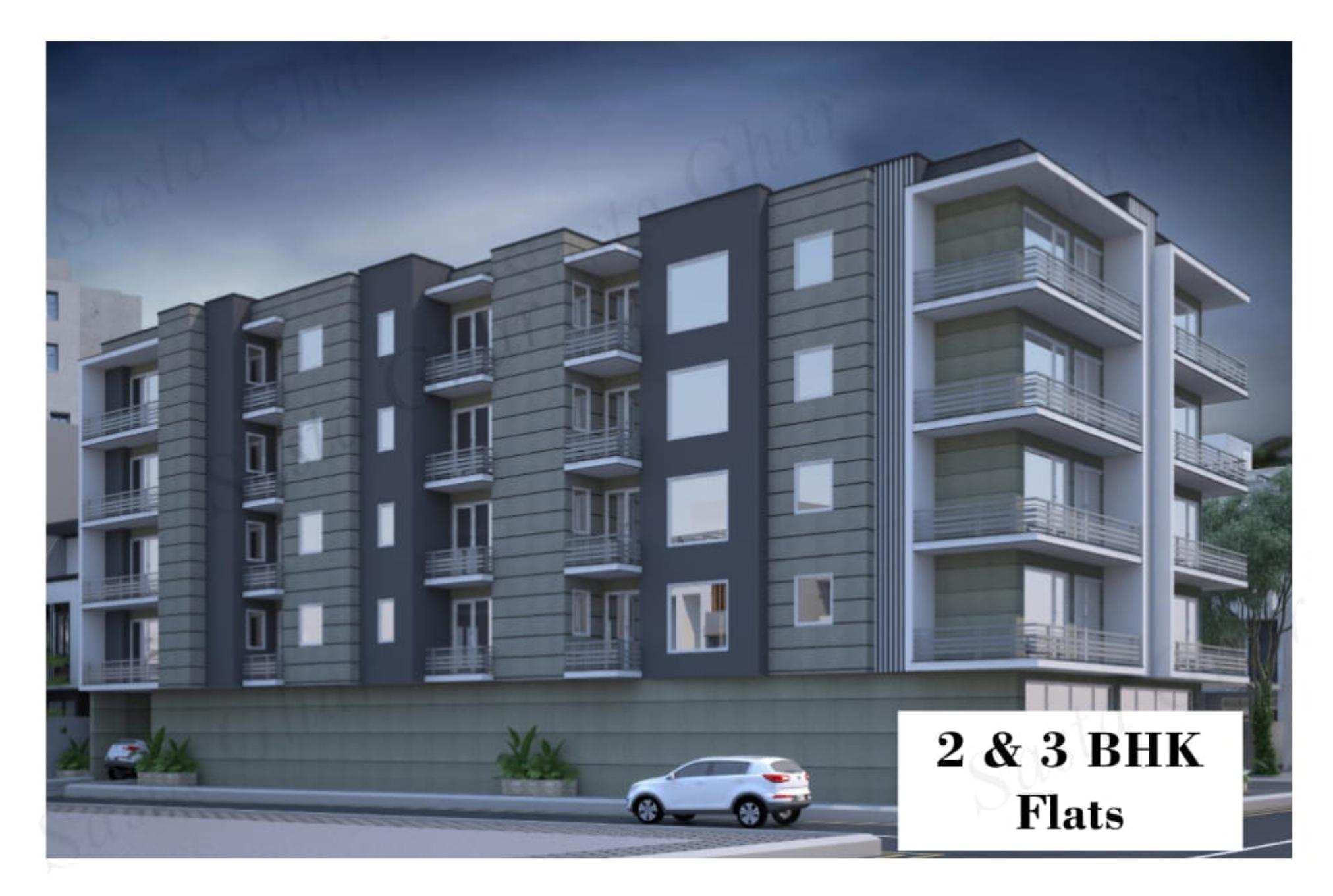 2 BHK Flats in Chattarpur Image