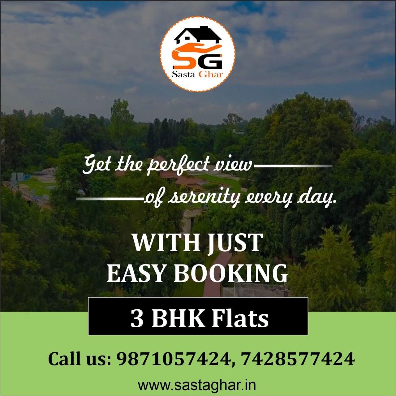 3 BHK Flat in Chattarpur Image