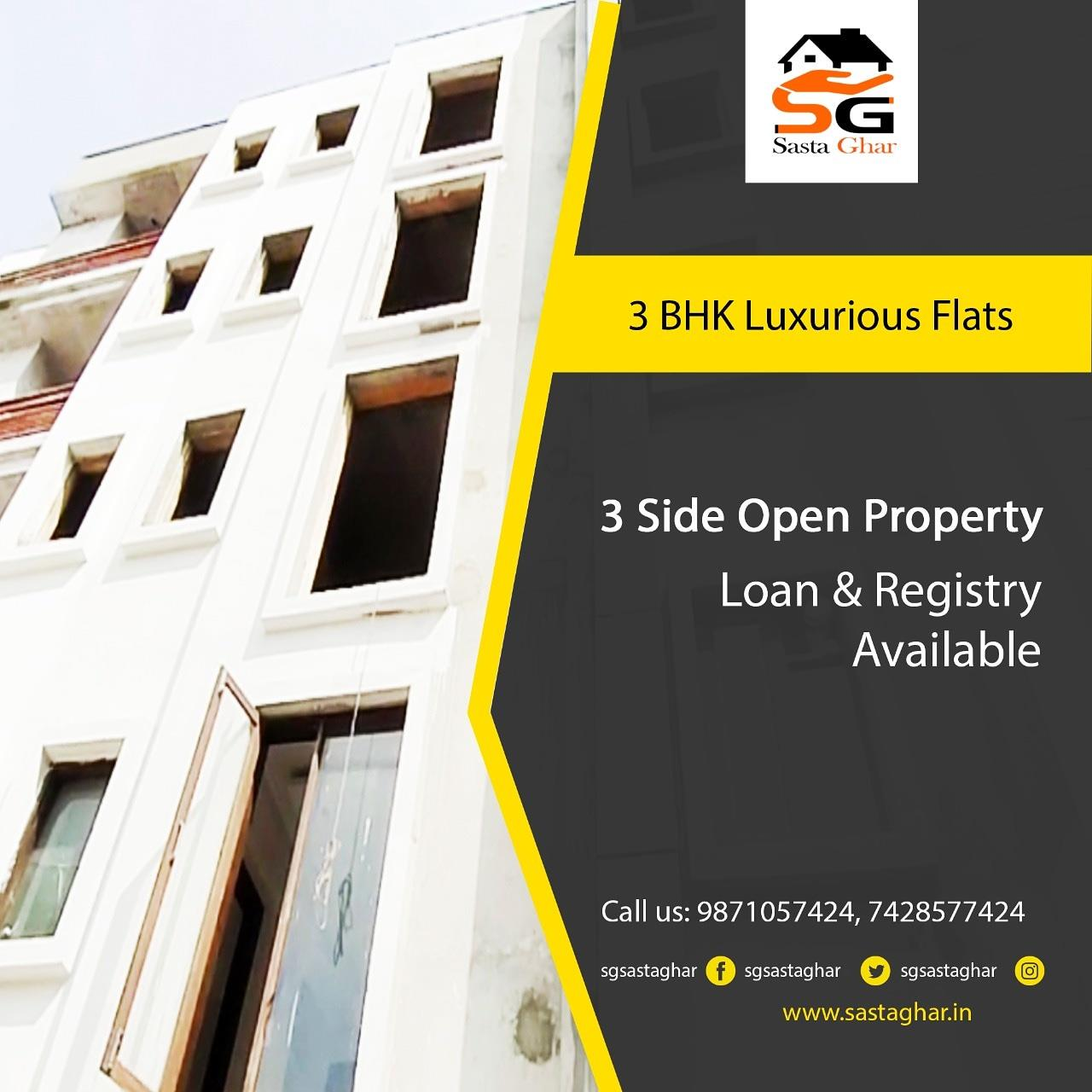 3 BHK Flats In South Delhi Image