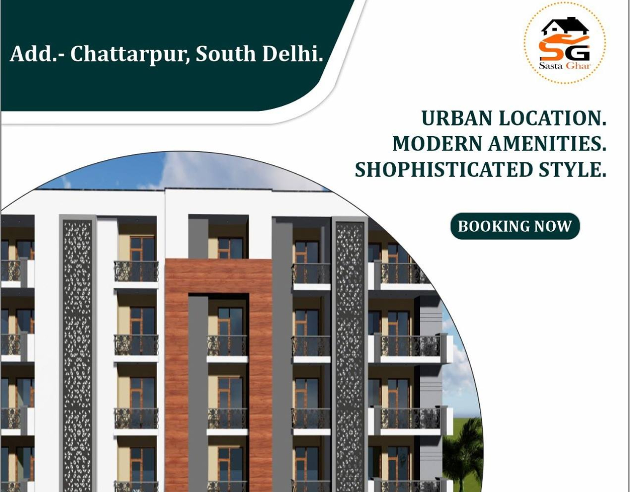 Flats in Chattarpur For Sale Image