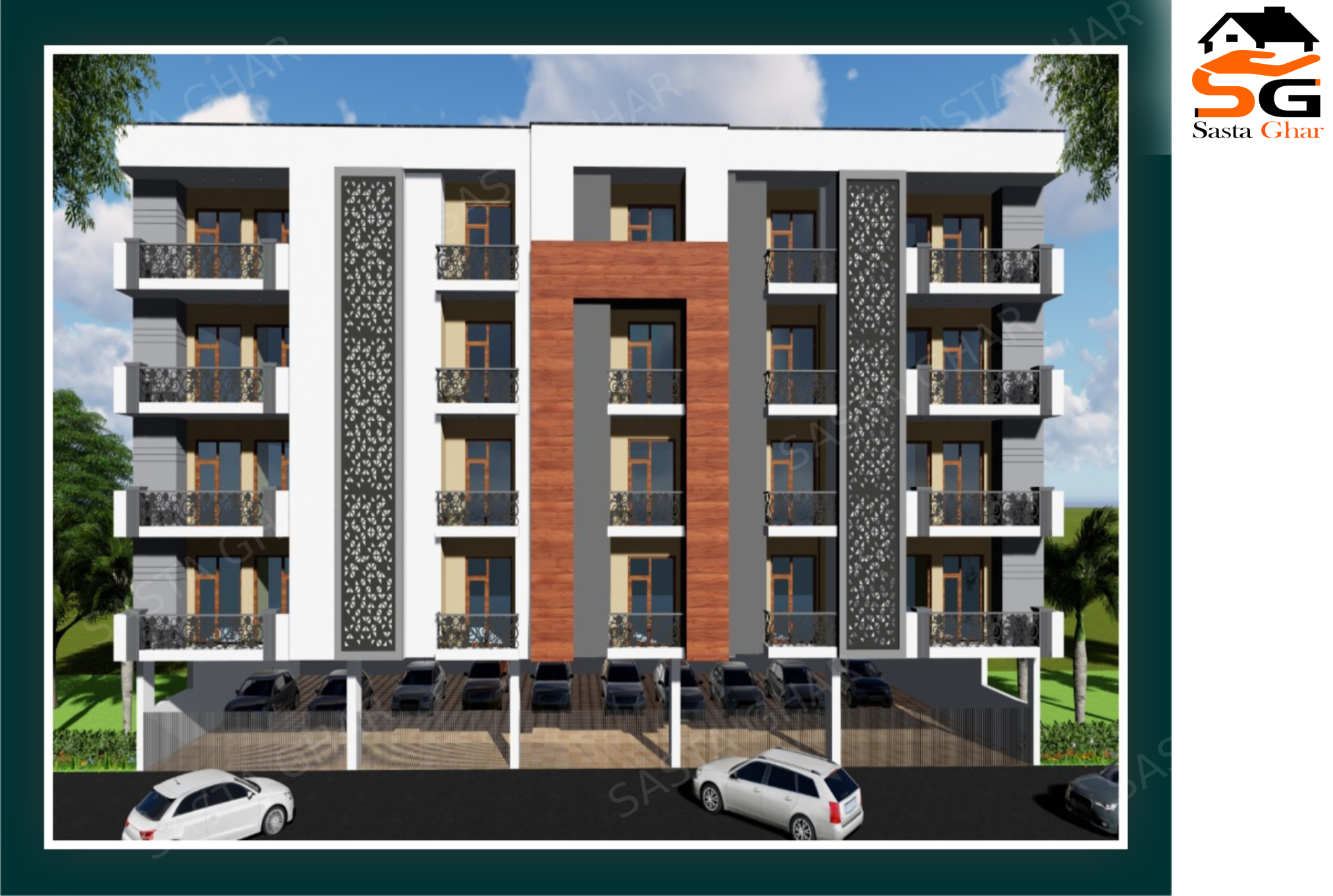 2 & 3 BHK Flats Near Metro Station Image