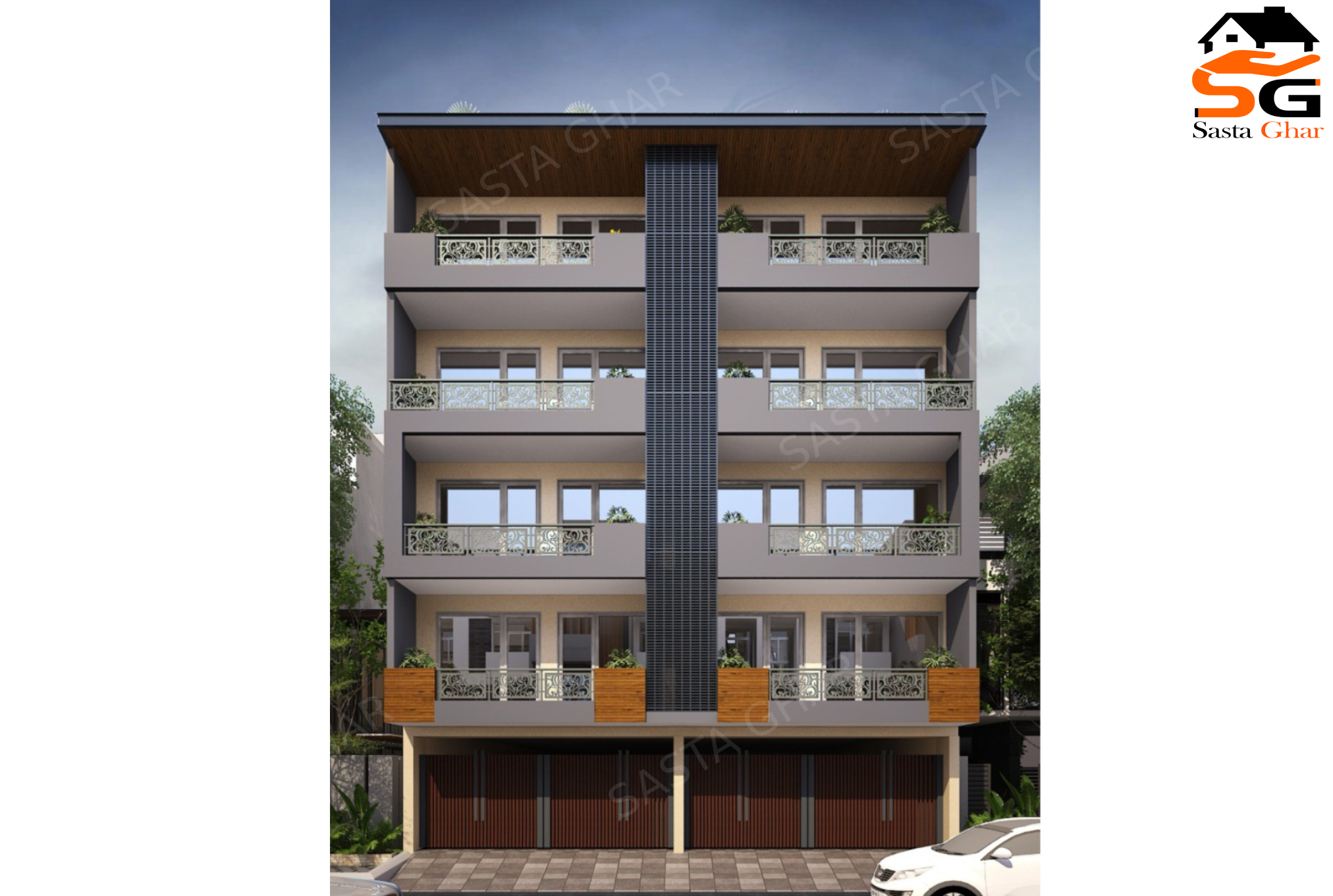 3 BHK Flats In Chattarpur Enclave Image