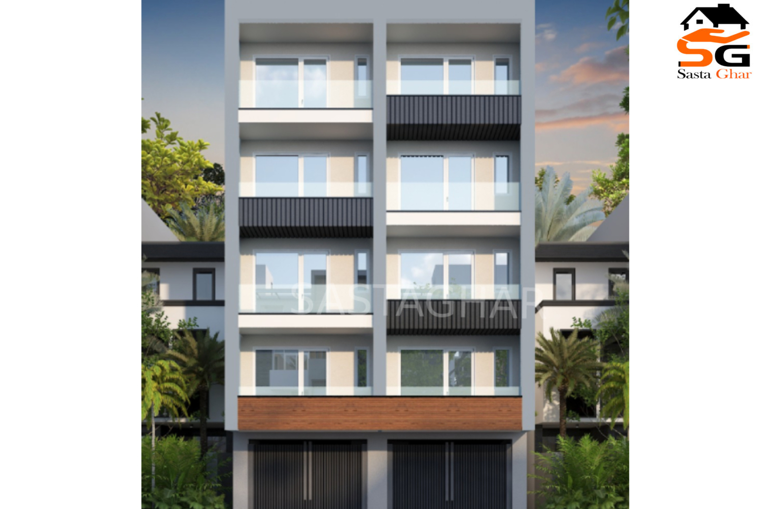 3 BHK Flats In Birla Farm Image