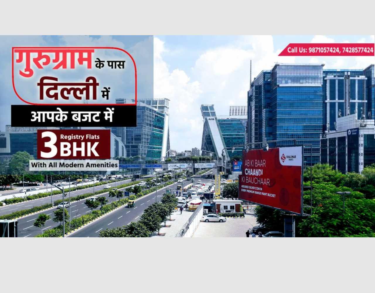 3 BHK Flats Near Gurugram Image