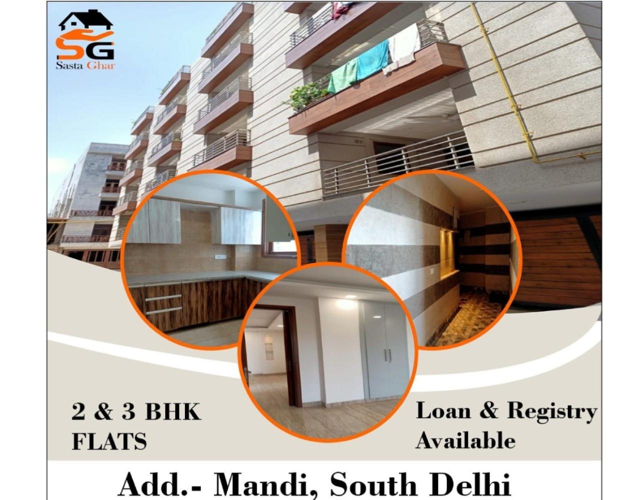 3 BHK Flat In Mandi Image
