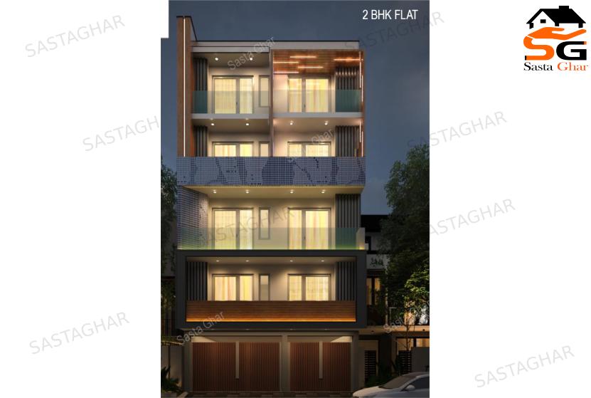 2 BHK flats in Chhattarpur enclave