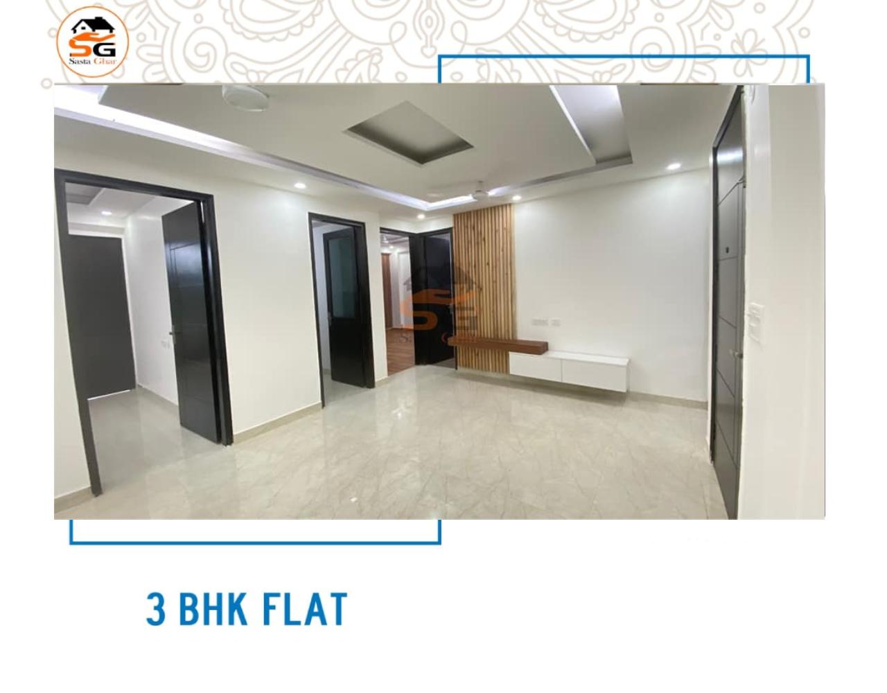 3 BHK flat for sale in Chattarpur Delhi