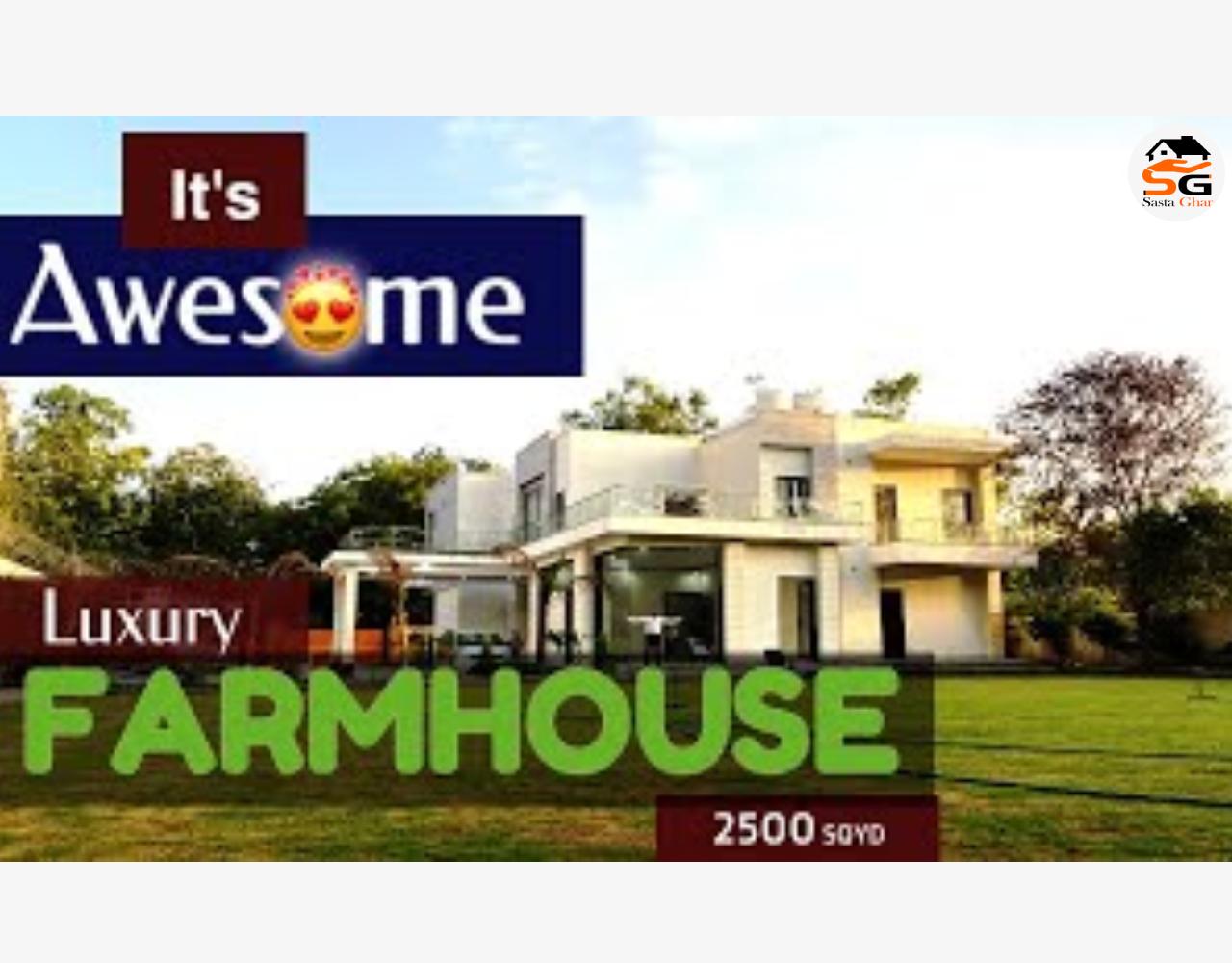 Farm houses for sale in Chattarpur