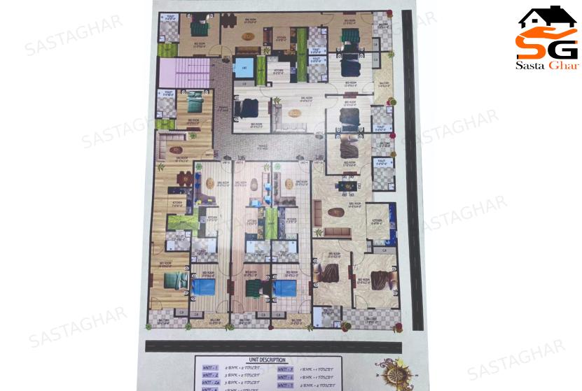 1 2 3 BHK flats in Mehrauli