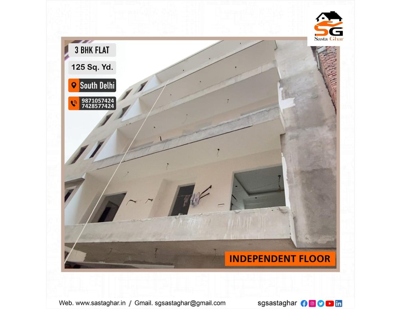 3 BHK flats in Chhatarpur