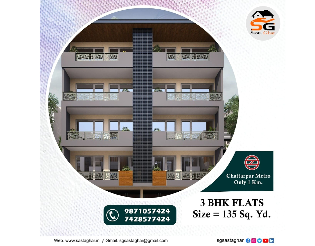 Flats in South Delhi with Loan facility