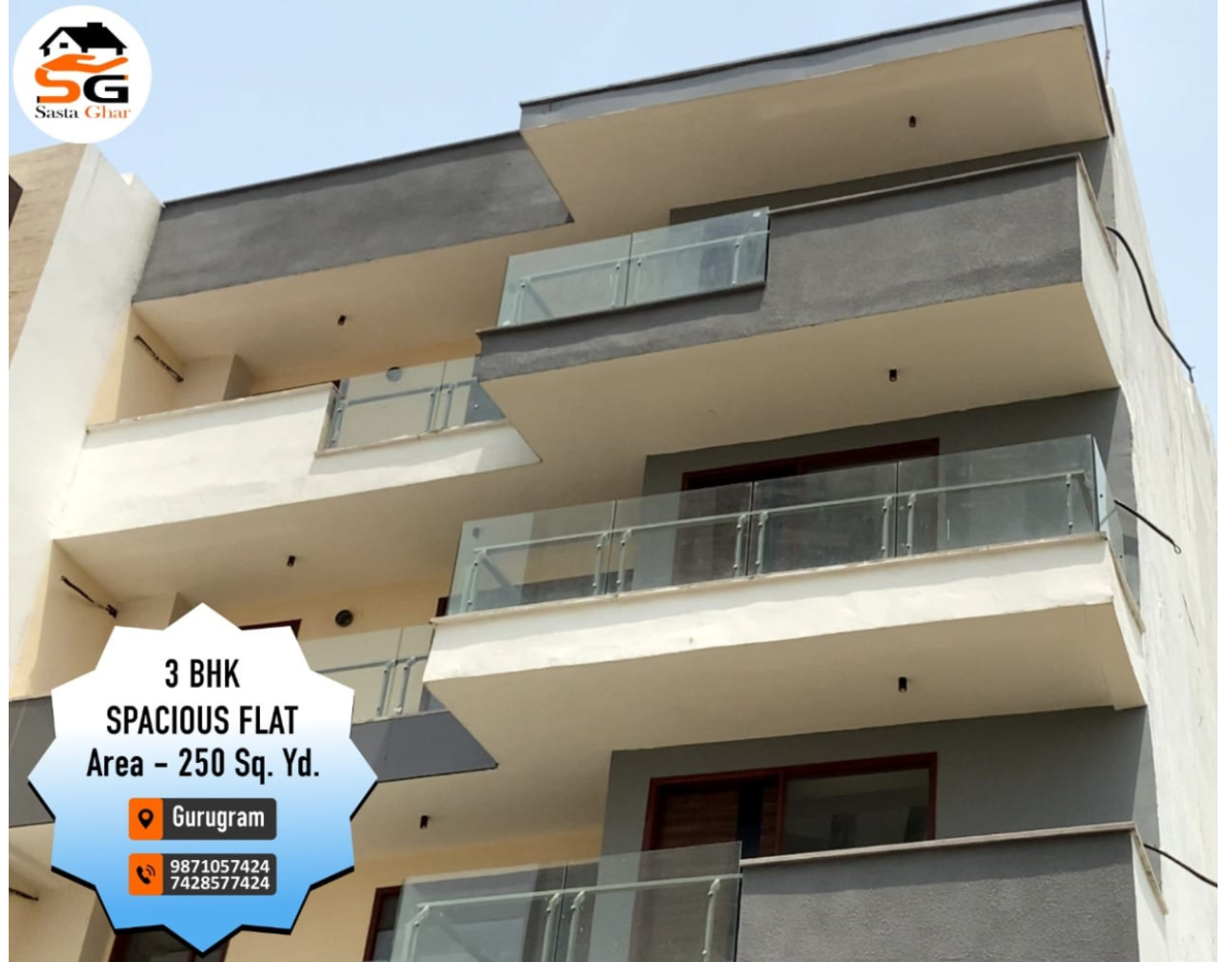 3 BHK flat in Sector 57 Gurgaon Image