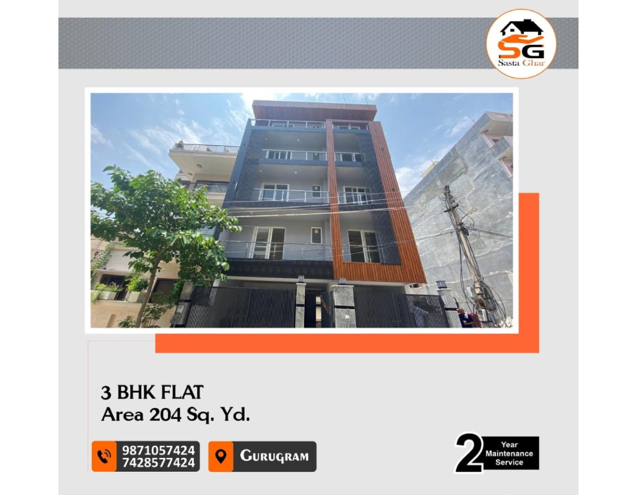 3 BHK flat In Gurugram Sector 55 Image