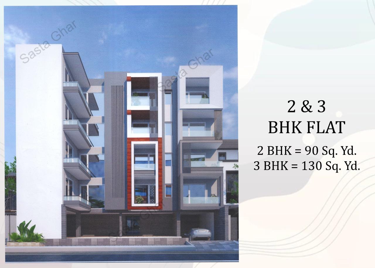 2 & 3 BHK flats Chattarpur