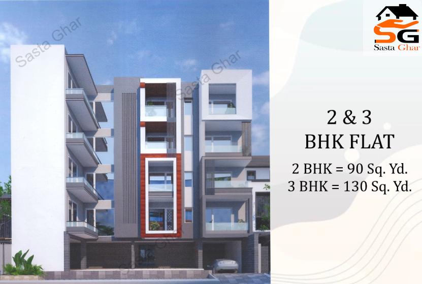 2 & 3 BHK flats Chattarpur Image
