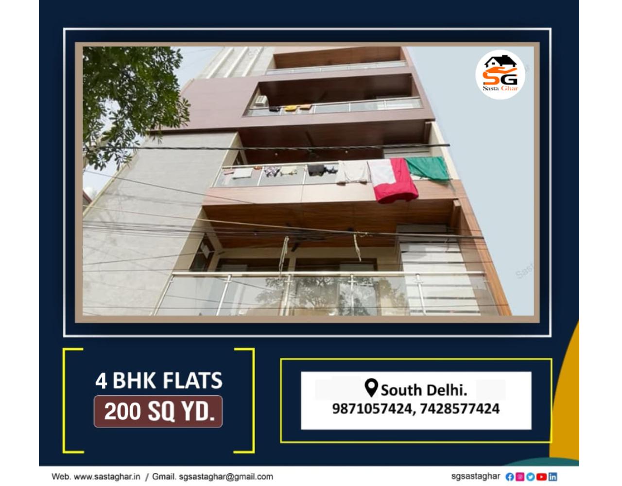 New Flats in Chattarpur